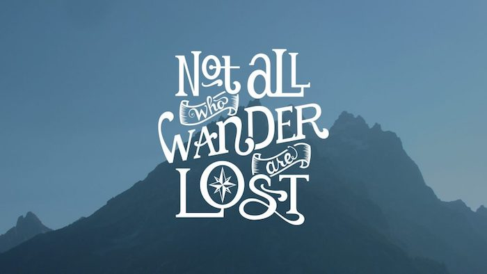 tumblr wallpaper quotes, nicht alle,die wandern sind verloren, ein spruch