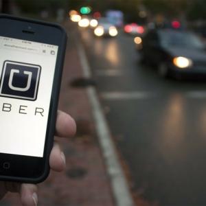 Uber Fahrt ohne Gespräche - verbesserte Funktionen der App