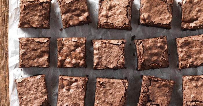 gesunde brownies, vegane glutenfreie rezepte, nachtisch ideen, kuchen mit kakao, glutenfreier nachtisch