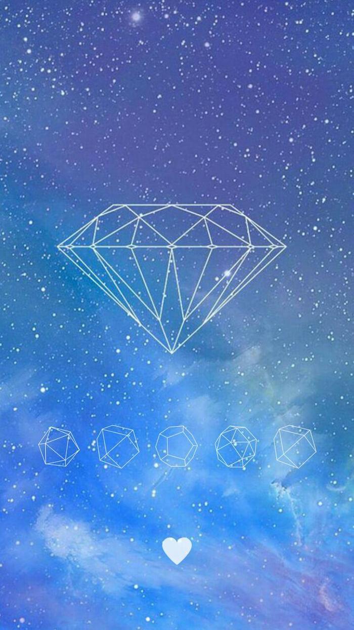 tumblr määdchen bilder, diamanten bild ideen am himmer hintergrund sterne