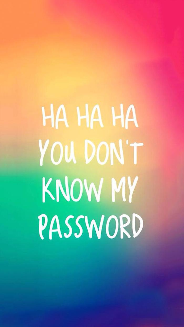tumblr mädchen bilder, hahaha du kennst mein password nicht, lustiges bildschirm foto, lock screen