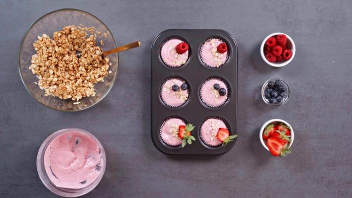 6 schnelle fingerfood rezepte party essen leckere cupcakes ohne backen häppchen mit skyr und haferflocken