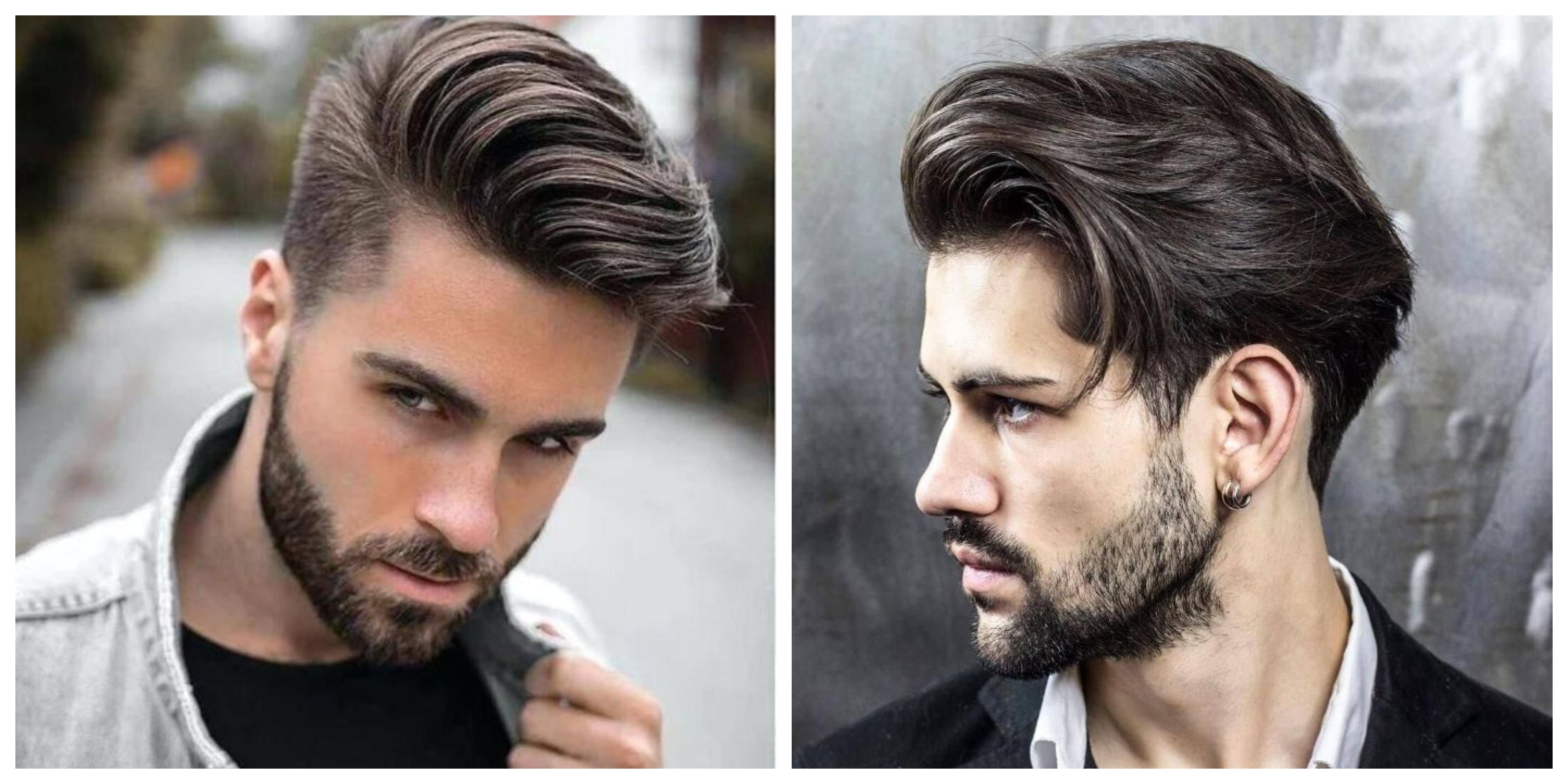 halblange haare, hellbraun vs dunkelbraun, moderne männerstyle ideen, jungs frisuren