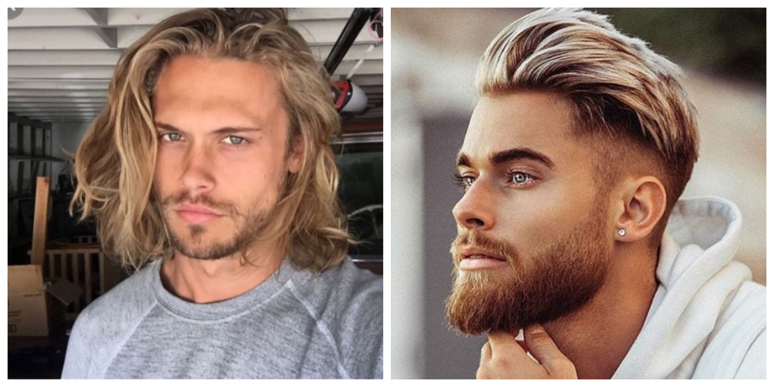 halblange haare, blonde haare mittellang bis mittelkurz, blonde männer styles