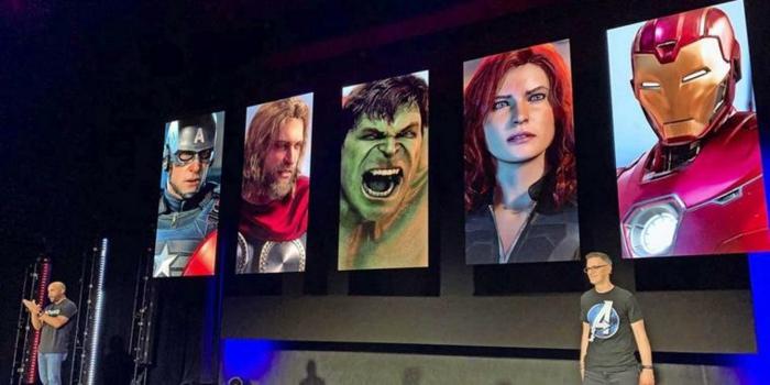 auf der Konferenz E3 erwarten uns viele Überraschungen, dazu das Spiel von Avengers