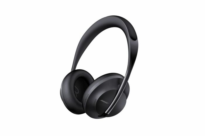schwarzer Kopfhörer, Bose Noise-Cancelling-Kopfhörer 700, ein Überblick von dem Modell
