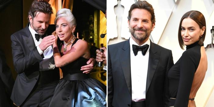Bradley Cooper hatte zwei Damen auf der Oscar Zeremonie, seine Freundin und Lady Gaga