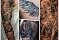 87 der besten Engel Tattoo Designs für Männer und Frauen