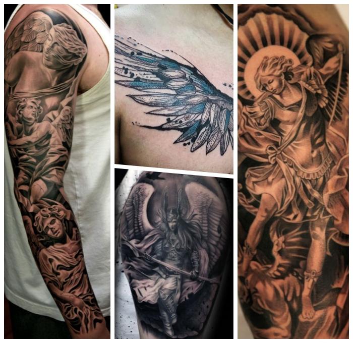 Sleeve tattoo frauen