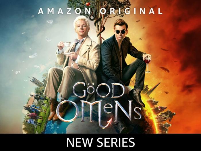 Good Omens, die neue Serie von Amazon Prime Original über Engel und Dämon