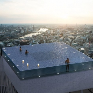 Infinity London - der erste 360-Grad-Infinity-Pool