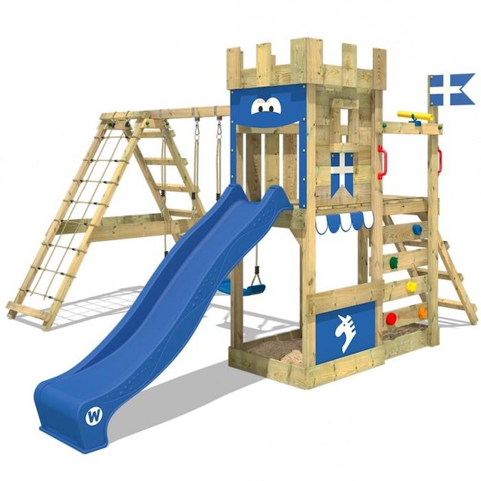 Ein solches Spielgerät lässt Kinderherzen höher schlagen