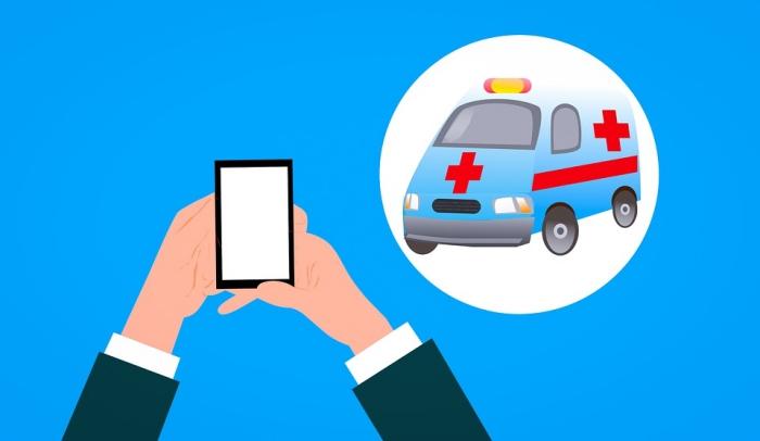 krankenversicherung in der schweiz, krankenwagen rufen, gesundheit, handy