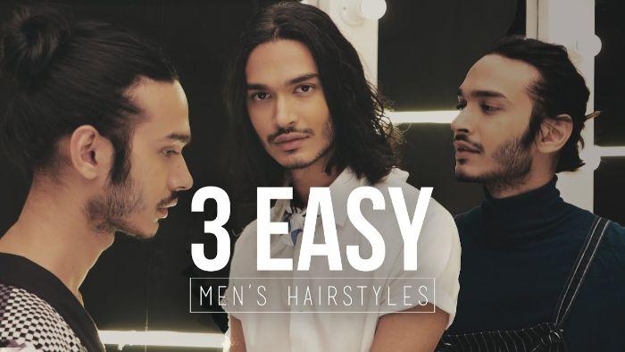 frisuren für männer mittellang, drei frisuren ideen selber machen, tipps vom frisör der stars