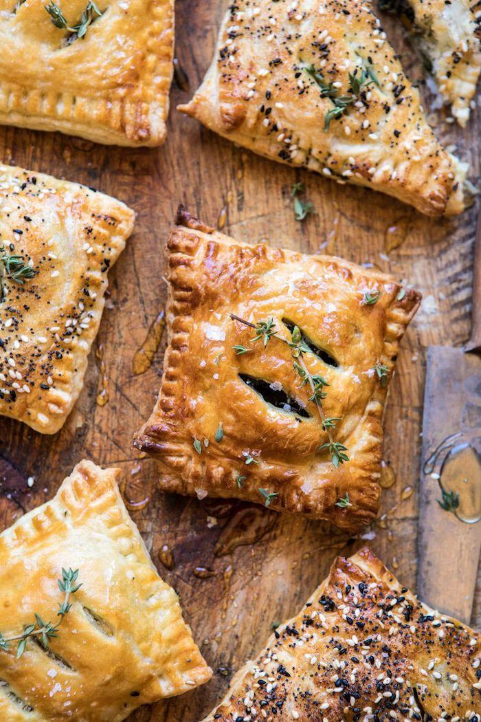 Rezepte für Fingerfood warm, kleine vegetarische Häppchen für Party Gäste