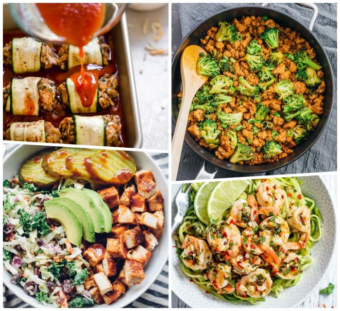 hackfleisch mit brokkoli, schnelle rezepte ohne kohlenhydrate, gesund essen, abendessen ideen