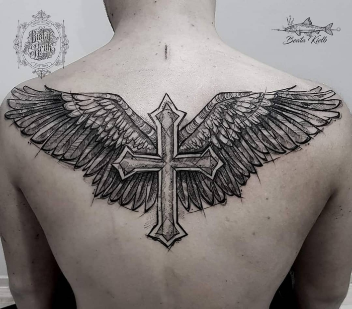 Rücken männer tattoo Sleeve Tattoo: