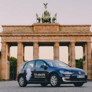 WeShare - Volkswagens Carsharing startet mit elektrischen Autos in Berlin