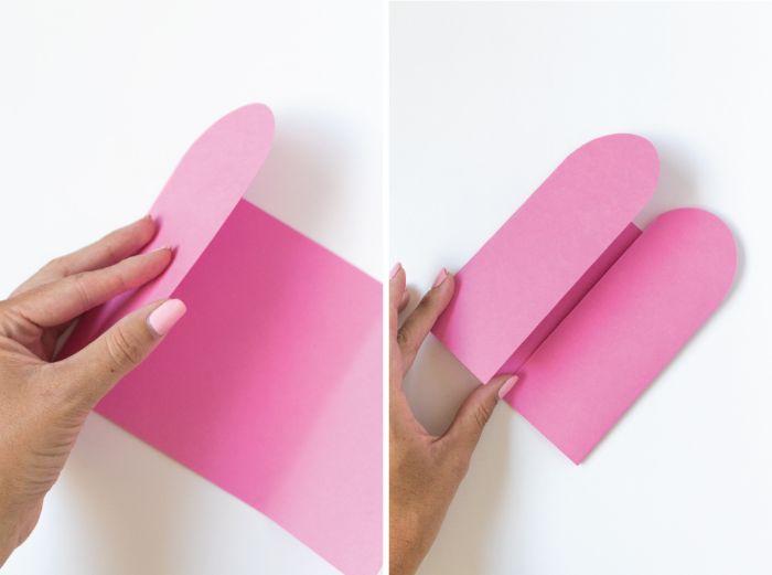 einladungskarten geburtstag, so wird es gemacht diy anleitungsideen rosa