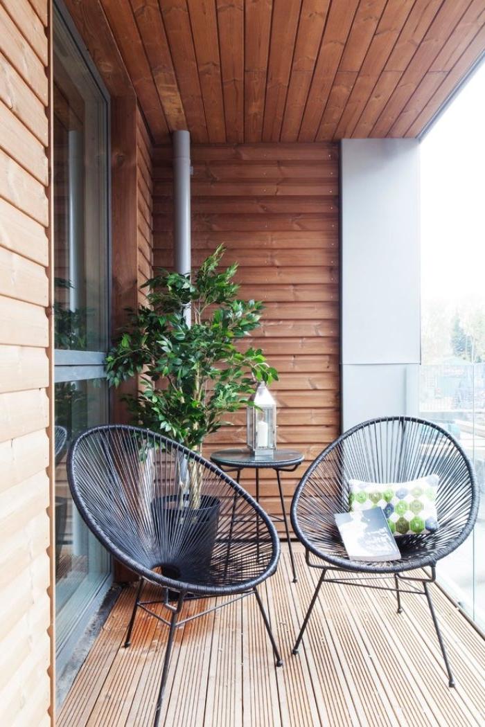 balkon ideen zum inspirieren, moderne deko ideen auf dem balkon selber machen