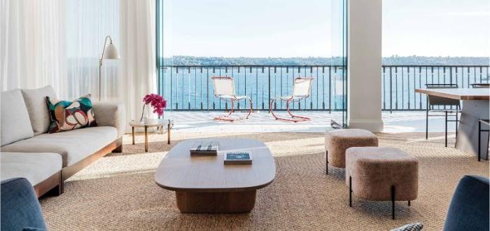 balkon gestalten in maritime style, dekorationen und ideen zum inspirieren, elegantes und dezentes design von der wohnung