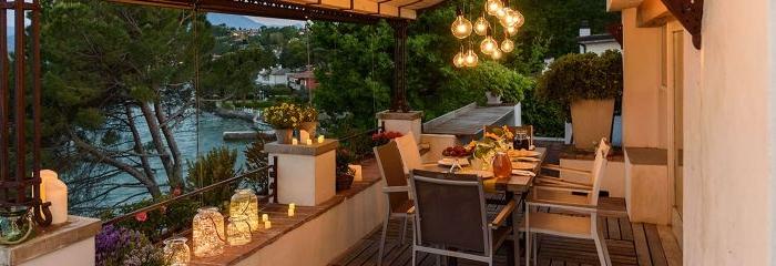 kleiner balkon, romantisch gestalten, dekorationen und ideen auf dem balkon, ideen deko