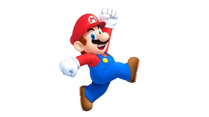 das spiel von nintendo super mario maker teil zwei, ein mann mit schnurrbart und blauer arbeitskleidung