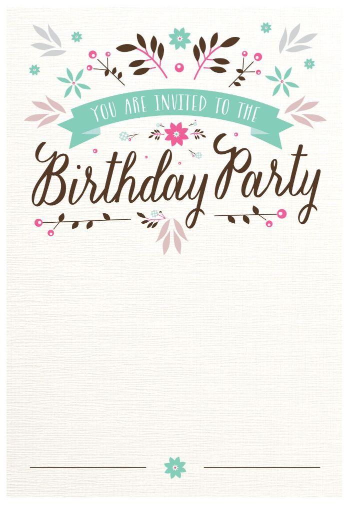 einladung kindergeburtstag basteln, geburtstagseinladungskarte vorlage zum ausdrucken
