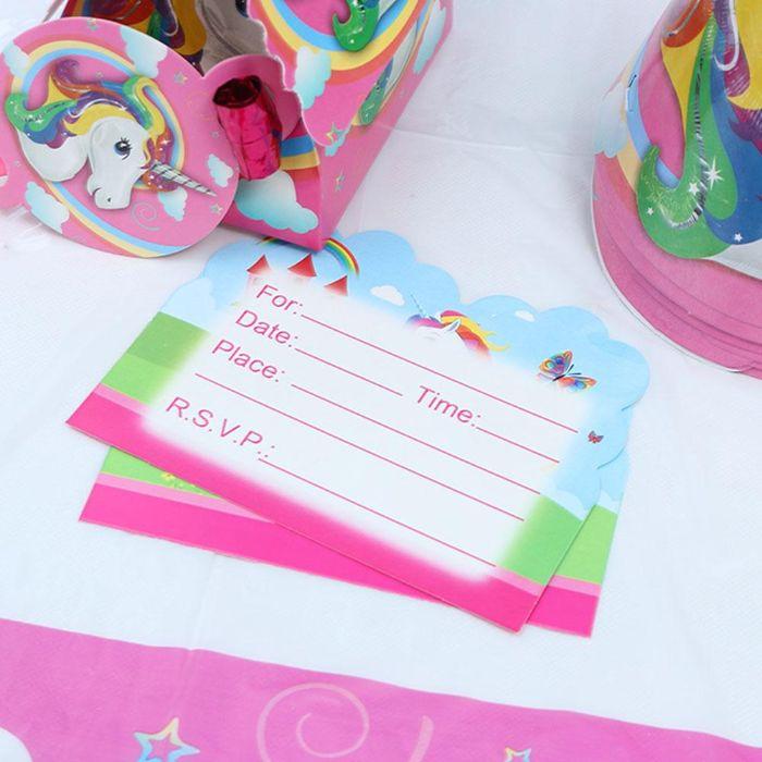 einladung kindergeburtstag basteln, einfache einladungskarten sleber machen, my little pony motiv