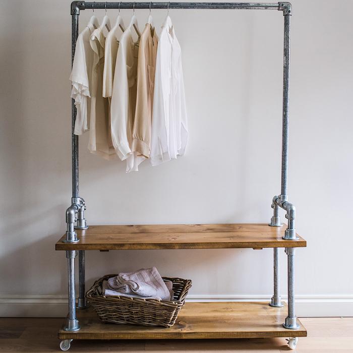 Kleiderstange nach eigenem Wunsch zusammenstellen