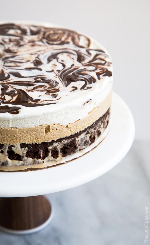 kuchen ohne backen, leckere geburtstagstorte mit oreo keksen und schokolade, nachtisch ideen