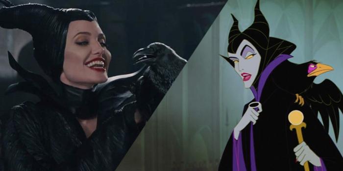 Maleficent aus dem Disney Film sieht Angelina Jolie sehr ähnlich wegen der passenden Schminke