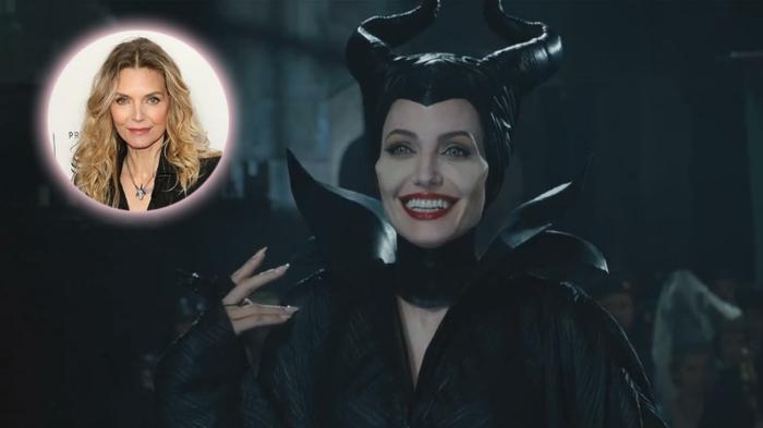 die Gegnerin von Maleficent, Königin Ingrith ist von Michelle Pfeiffer gespielt