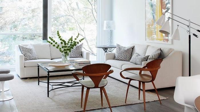 minimalismus tipps, gemütliche erholungsecke zu hause, deko ideen zum inspirieren