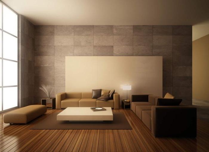 minimalistische einrichtung, beige und braun dekor und möbel, zimmer einrichten