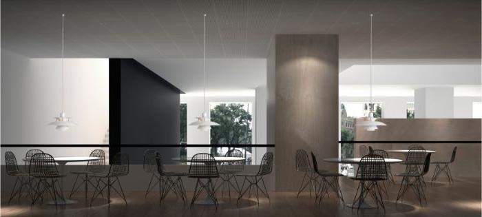 minimalistische einrichtung, minimalistisch große räume dekorieren und einrichten, möbel aus stahl