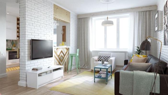 minimalistische bilder, deko in einem besonderen interieur, skandinavische deko