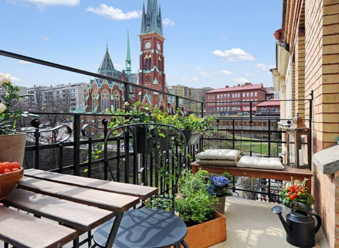 balkon verschönern, eine wunderschöne terrasse, kleiner balkon zum ausstatten iund inspirieren