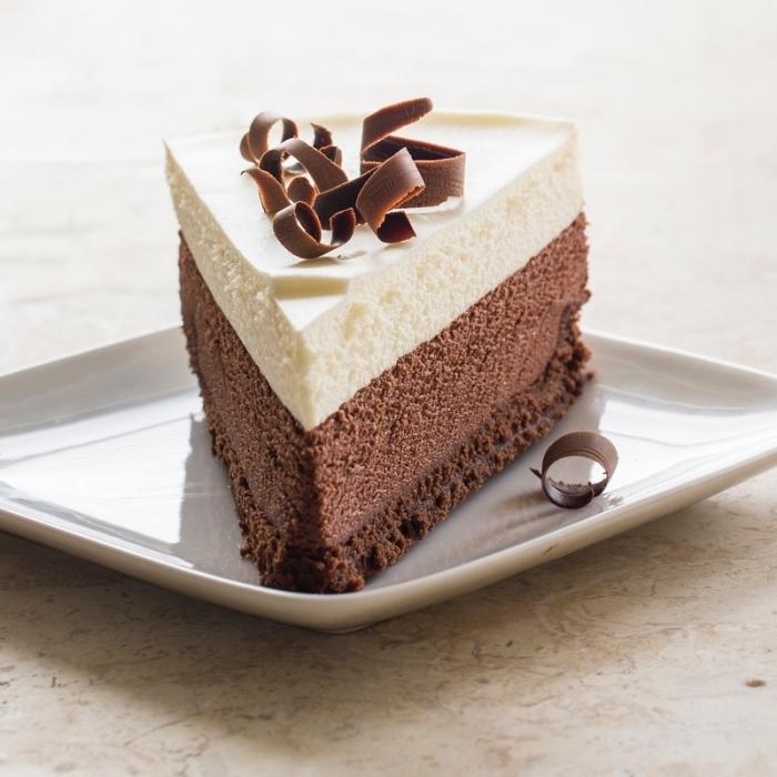 philadelphia torte ohne backen, tripple schokolade, frischkäsekuchen rezept, kuchen mit schokolade