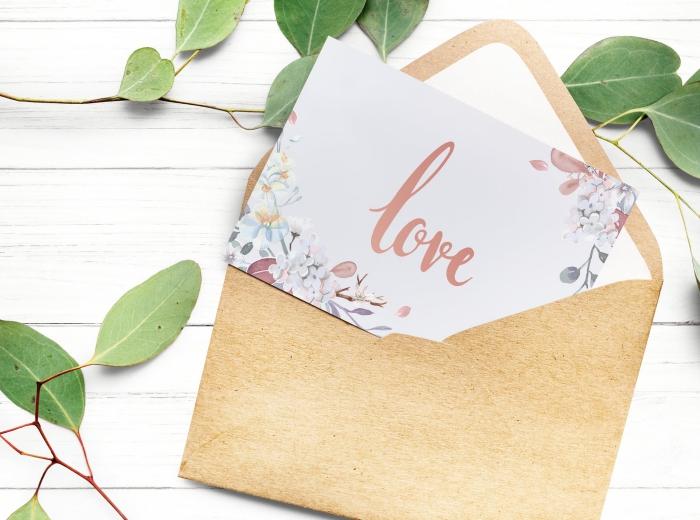 save the date karten für hochzeit, hilfreiche tipps und infos, brauner briefumschlag, hochzeitskarten in boho stil