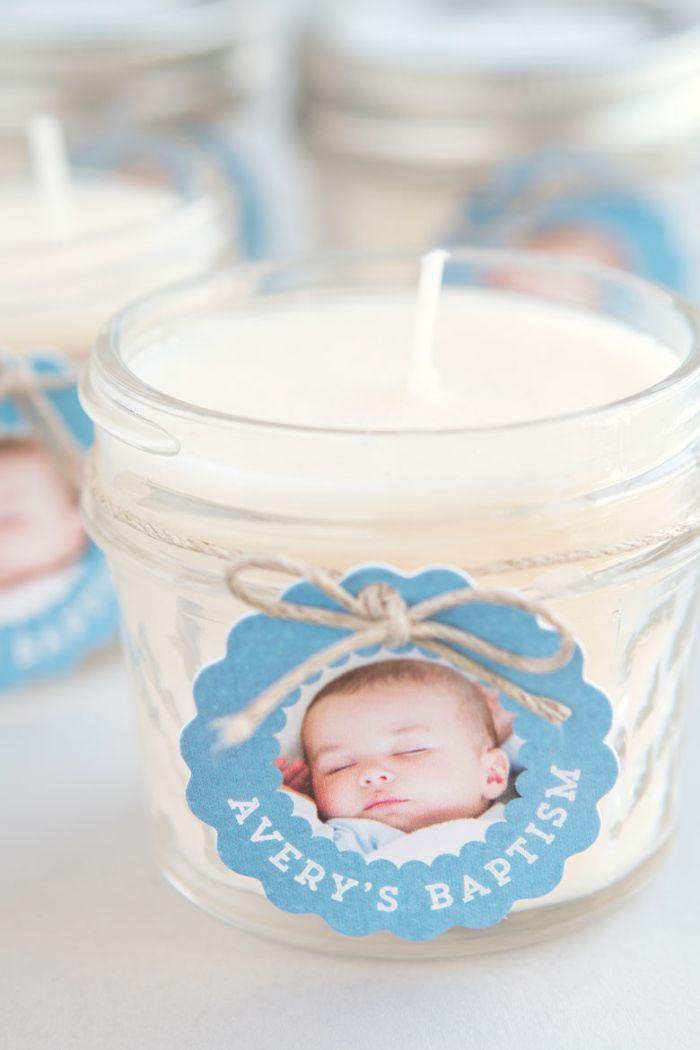 taufe junge, einzigartige taufe dekorationen für das baby, einmalige idee, die zur erinnerung bleiben