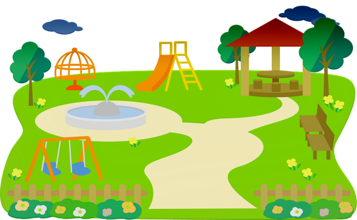 spielplatz für kinder im garten schaffen, gartengestaltung ideen, platz für die kleinen im außenbereich