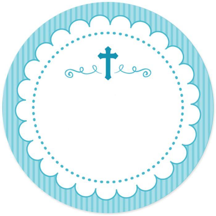 tischdeko taufe junge, eine karte weiß und blau mit kreuz karten einladungskarten
