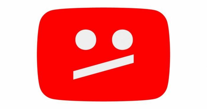 dieses Zeichen sehen wir, wenn ein Video wegen Urheberrecht in YouTube entfernt wird