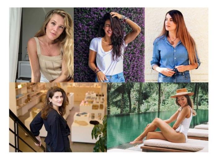 vegane kleidung, influencers der nachhaltigen lifestyle, fürn fotos von influencerinnen, foto collage