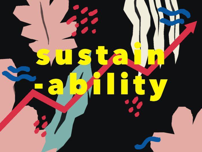 öko kleidung, eine schöne design idee für werbung von sustainable mode