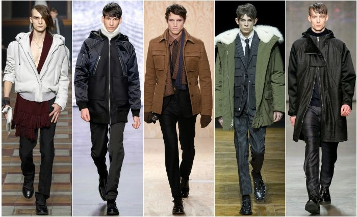 20er kleid vintage, outfit ideen für männer, winter look im 20er styling, 5 models