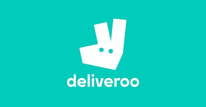 Deliveroo hat ein schlaues Logo mit einem Tierchen auf einem grünen Hintergrund