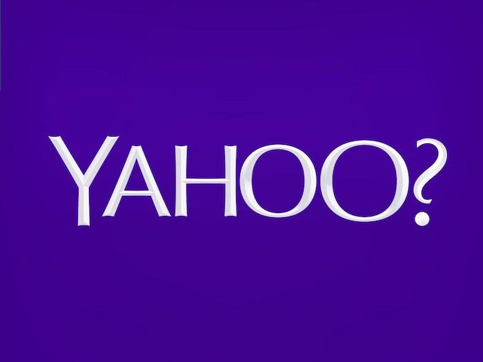 yahoo, der logo von dem konzern