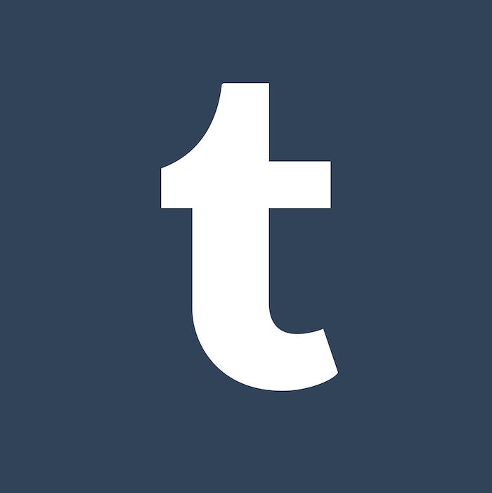 tumblr verkauft, der logo von dem sozialen netzwerk
